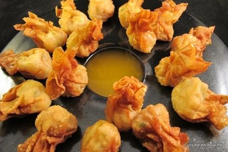 Cuisine en bouche: Chaussons frits aux crevettes | Cook | Scoop.it