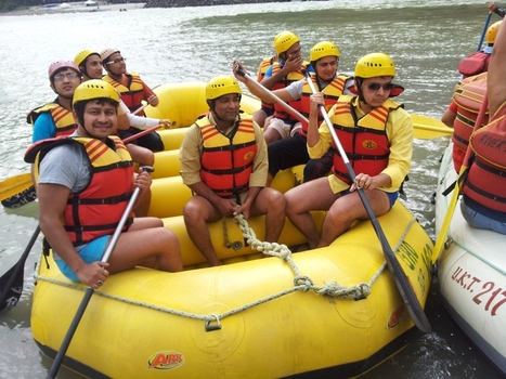 Pacific Infotech Organised an Official tour at the Adventure Valley of Rishikesh | IT Solutions Services | Scoop.it