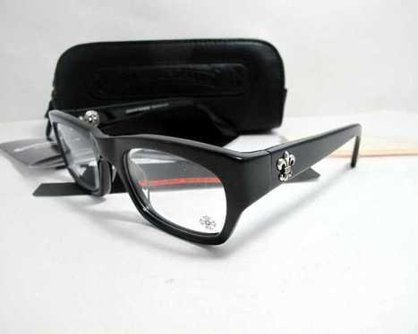 Buy Black Frame Chrome Hearts Blue Ballz BK Eyeglasses Online | nice website | Scoop.it