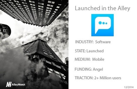 Article in AlleyWatch : This NYC Startup Has Finally Nailed Total Anonymity   Blog.PeeeM   Anonymous Social Messenger   Scoop.it