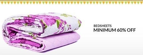 Bedsheets - MINIMUM 60% OFF , deals fromPromotional Products, discount voucher from India | thetradeboss | Scoop.it