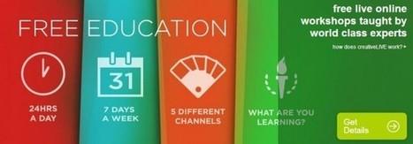 creativeLIVE lanza nueva red de educación online 24 horas / 7 días a la semana | Gestores del Conocimiento | Scoop.it