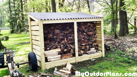 DIY Firewood Storage Shed | MyOutdoorPlans | Free Woodworking Plans and Projects, DIY Shed, Wooden Playhouse, Pergola, Bbq | Furniture Plans | Scoop.it