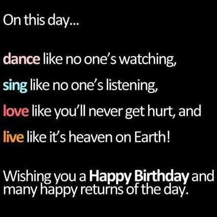 20+ Birthday Quotes From The Heart   creativemisha   Graphics Heat   Scoop.it