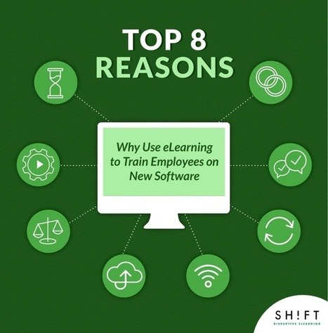 Top 8 Reasons Why Use eLearning to Train Employees on New Software | Educational Technology News | Scoop.it