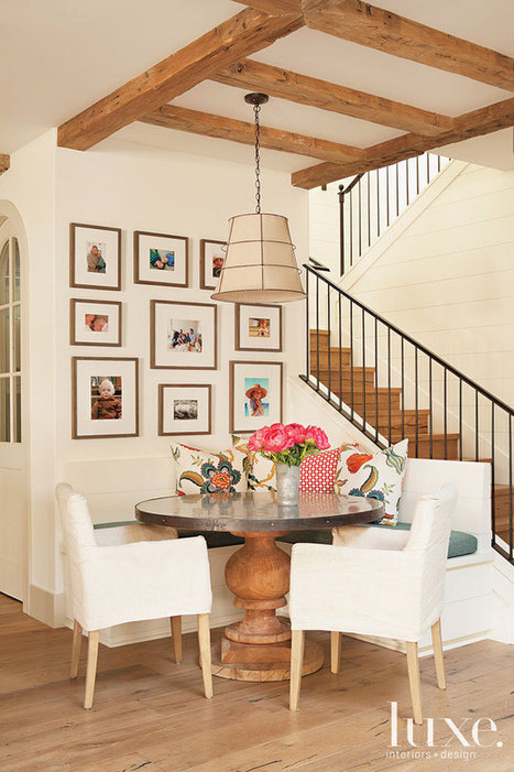 Beach House Blends Coastal Style With European Elegance | LUXE Source | Interior Design Trends for 2015 | Scoop.it