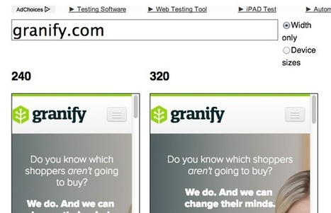 14 Free Responsive Design Tools - Granify | Ecommerce | Scoop.it