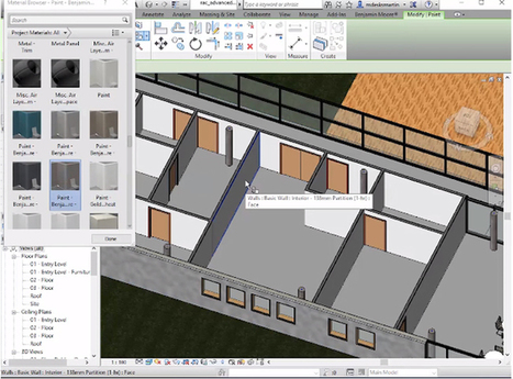 The Benjamin Moore Color Suite For Revit – A Newest Application For Designers | BIM Forum | Scoop.it