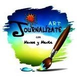 Art Journal con relieves sobre gasa: tutorial   Tutoriales, herramientas y técnicas   Scoop.it