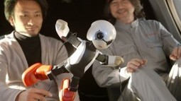 Japan Is Sending A Talking Robot Into Space - UberFacts | robotics | Scoop.it