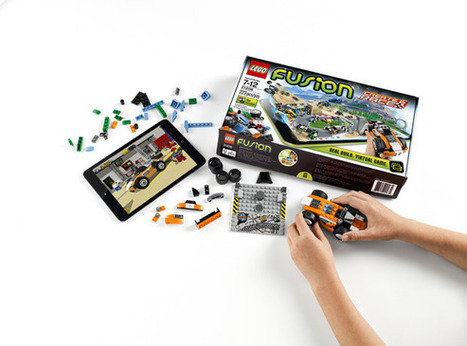 Lego Fusion lets kids build a videogame world with real-life Lego bricks | Laurinda's curated Kids Interactive Articles | Scoop.it