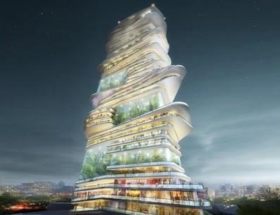 Endless City: Skyscraper Wraps Upward with Walkable Ramps | Archivance - Miscellanées | Scoop.it