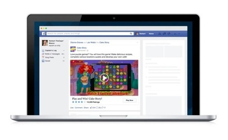 Facebook Expands Desktop Video App Ads, Carousel Mobile App Ads | Facebook Marketing | Scoop.it