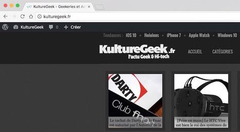 Google Chrome 52 est disponible : voici les nouveautés | Geeks | Scoop.it