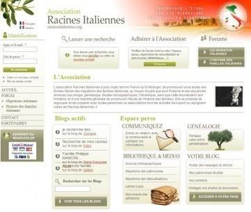 Entretien avec Arnaud Manuardi, président de 'Racines Italiennes' | Rhit Genealogie | Scoop.it