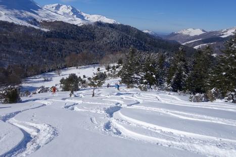 La Husse: Versant Nord (depuis Payolle), 21 January 2014 :: outing - Camptocamp.org | Vallée d'Aure - Pyrénées | Scoop.it