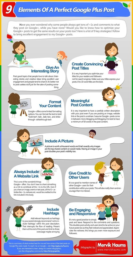 How to Optimize Your Google+ Posts [Infographic] | GooglePlus Expertise | Scoop.it