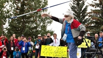 Florence Storch, 101, goes for gold at Canada 55+ Games | This Gives Me Hope | Scoop.it