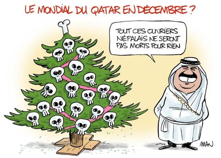 Le mondial du Qatar se déroulera en Décembre | Baie d'humour | Scoop.it