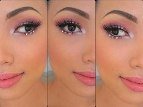 Maquillage Yeux Rose Et Noir : Meilleur Couleur 2014 | Maquillage | Scoop.it