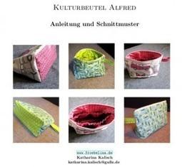Schnittmuster Kulturbeutel Alfred   Fröbelina   Nähen   Scoop.it