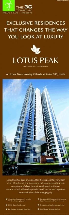3C LOTUS 300 Resale Noida 3/4/5BHK | free website hosting | Scoop.it