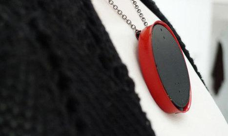 Ce pendentif intelligent filtre le brouhaha ambiant pour rendre les conversations audibles aux malentendants | shubush healthwear | Scoop.it