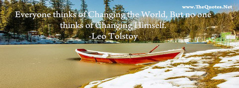 Facebook Cover Image - Leo Tolstoy Quote - TheQuotes.Net | Facebook Cover Photos | Scoop.it
