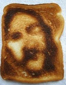 PsicoCuriosità: perchè alcune persone sono più propense di altre a vedere Gesù su una fetta di pane tostato?   Parliamo di psicologia   Scoop.it