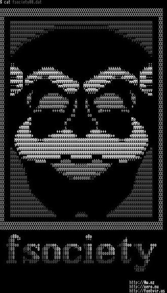 Tweet from @fontvirus | ASCII Art | Scoop.it