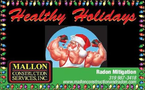 Healthy Holidays from Mallon Construction Services, Inc | The seriousness of Radon... | Scoop.it