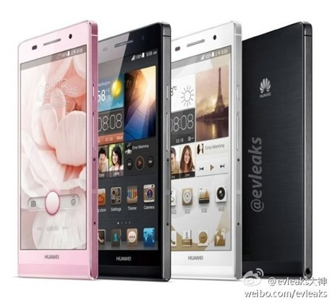 Huawei Ascend P6 official.. 6.18mm thick and aiming for your iPhone | Mobile IT | Scoop.it