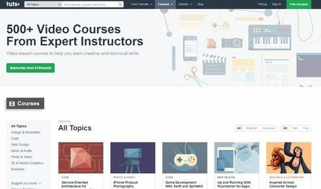 Best Online Courses for Teaching Yourself New Design Skills | Social Media, Communications and Creativity | Scoop.it