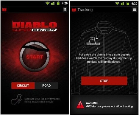 Pirelli Diablo Super Biker app now available for Android | Dealernews | Ductalk Ducati News | Scoop.it