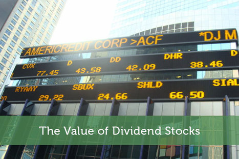 The Value of Dividend Stocks - Modest Money | SIPPS Self Invested Personal Pensions | Scoop.it