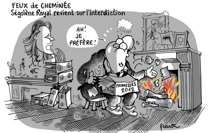 Feux de cheminée, Ségolène Royal lève l'interdiction   Baie d'humour   Scoop.it