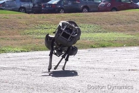 Top five animal-inspired robo-projects (Wired UK) | Heron | Scoop.it