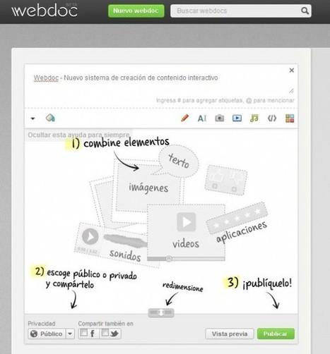 Webdoc – crer du contenu interactif avec des fichiers du web | le foyer de Ticeman | Scoop.it