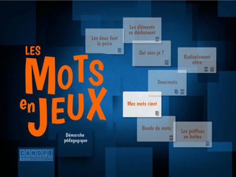 «Les Mots en Jeux» une démarche transmédia dans l'apprentissage du langage | | Ere numérique | Scoop.it