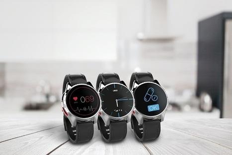 Linkoo présente la première montre connectée pour seniors GPS et 3G : Linkoo Seniors — Silver Economie | Seniors | Scoop.it