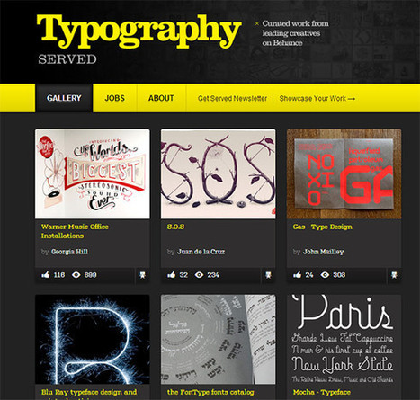Web Typography Collection – Great Tools, Books, Resources and Articles | Mémoire | Scoop.it