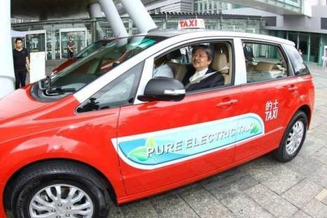 Hong Kong Launches All-Electric Taxi Fleet To Combat Pollution - PSFK | Idées d'ailleurs | Scoop.it