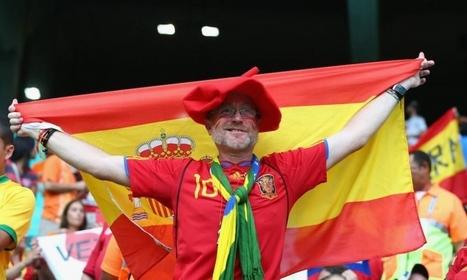 Fans Spanyol di Piala Dunia 2014 pada pertandingan Spanyol vs. Belanda | Piala Dunia 2014 Spanyol | Scoop.it