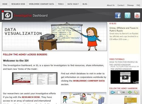 Investigative Dashboard – Resources for investigators | Social media kitbag | Scoop.it