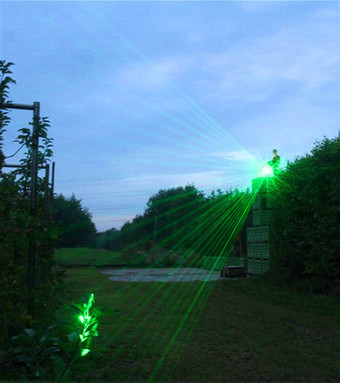 High Brightness Green Laser Pointer Applied for Bird Driving | Laser Tech And Fiber Testing News | Laser Pointers, Alignment Lasers, Laser Diodes, DPSS Lasers | Scoop.it