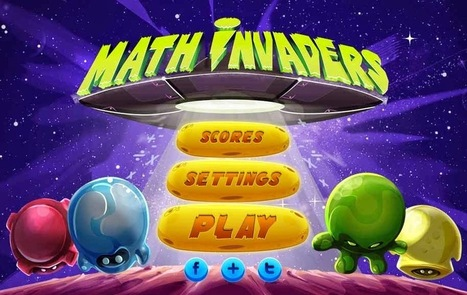 MATH INVADERS: Divertido juego para aprender las operaciones básicas.- | Matemáticas.- | Scoop.it