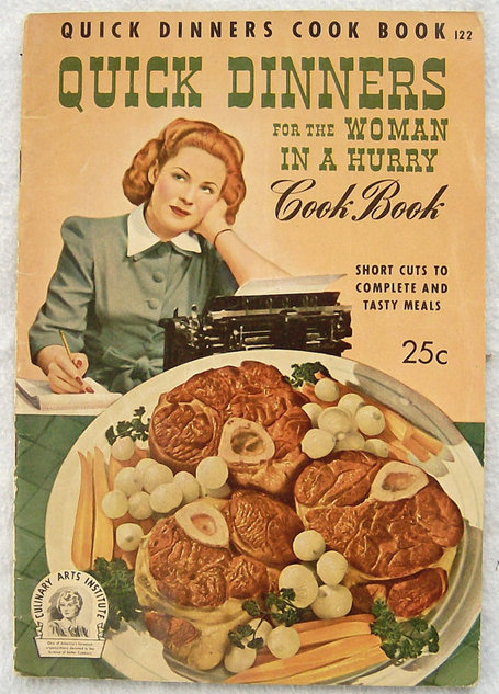 Quick Dinners for the Woman in a Hurry | Antiques & Vintage Collectibles | Scoop.it