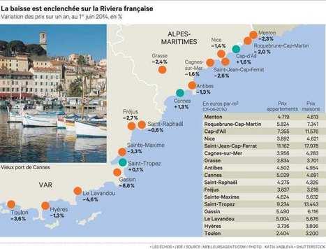 France: Côte d'Azur: les nouveaux prix | Real estate | Scoop.it