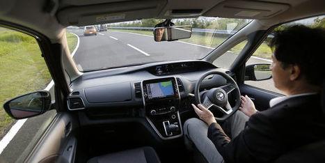 Les voitures autonomes en voie d'être testées sur les routes de France | 694028 | Scoop.it