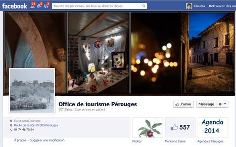 Page Facebook de l'Office de tourisme Pérouges | Sites qui ont implémenté les Widgets Sitra | Scoop.it
